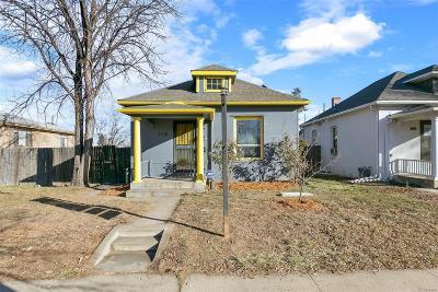 Denver Single Family Home Active: 218 Hazel Court
