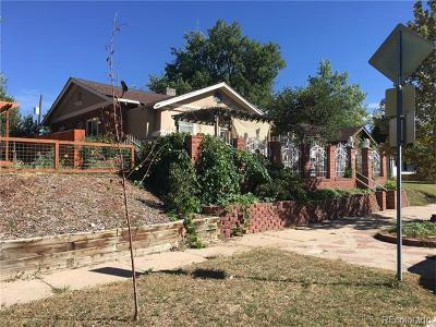 Denver Single Family Home Active: 3732 Cook Street