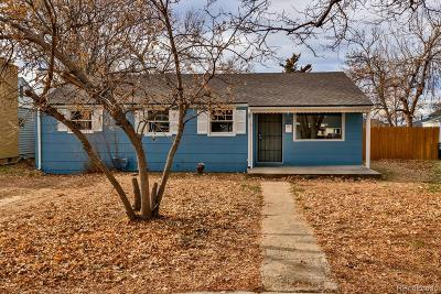 Aurora Single Family Home Under Contract: 1161 Hanover Street