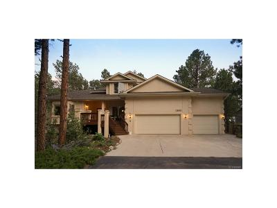 Woodmoor Single Family Home Active: 18415 Lazy Summer Way