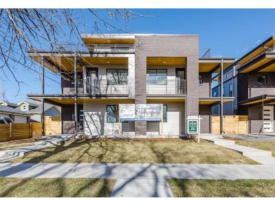 Denver Condo/Townhouse Under Contract: 3201 West 25th Avenue