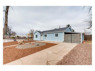 Aurora, Denver Single Family Home Under Contract: 13615 East 13th Avenue
