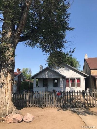 Denver Single Family Home Under Contract: 3750 North Fillmore Street