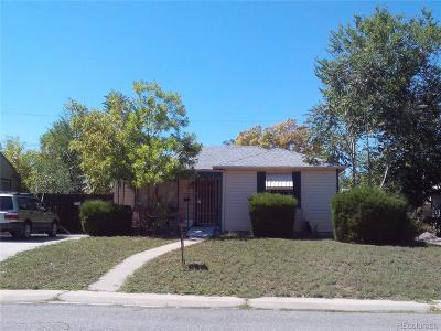Denver Single Family Home Under Contract: 2761 South Hazel Court