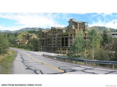 Steamboat Springs Residential Lots & Land Active: 2135 Burgess Creek Road