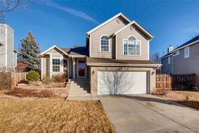 Arvada Single Family Home Under Contract: 11843 West 84th Place