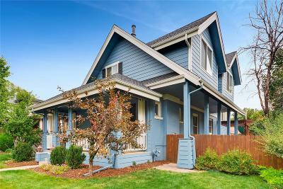 Washington Park Single Family Home Active: 1360 South Gaylord Street