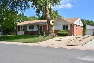 Denver Single Family Home Active: 738 South Grape Street