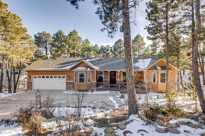 Colorado Springs Single Family Home Under Contract: 15345 Pleasant View Drive