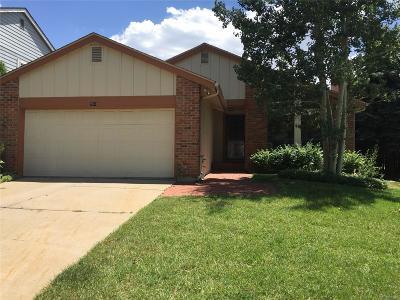 Centennial CO Single Family Home Under Contract: $430,000