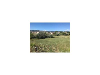 Littleton Residential Lots & Land Active: 8300 South Cody Way