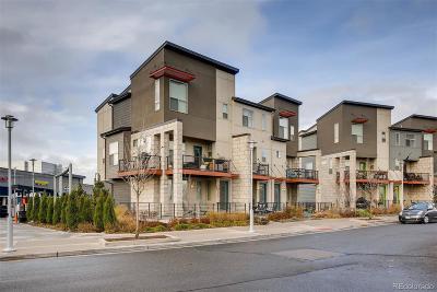 Stapleton Condo/Townhouse Under Contract: 4915 Valentia Street