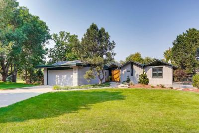 Greenwood Village Single Family Home Under Contract: 9500 East Orchard Drive