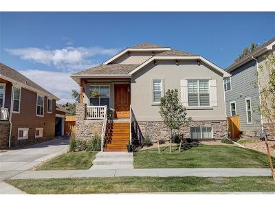 Wheat Ridge Single Family Home Active: 3351 Yukon Court