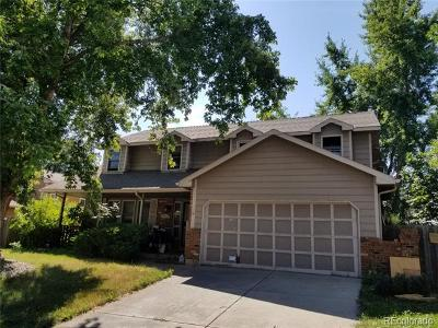 Lakewood Single Family Home Under Contract: 13374 West Saratoga Drive