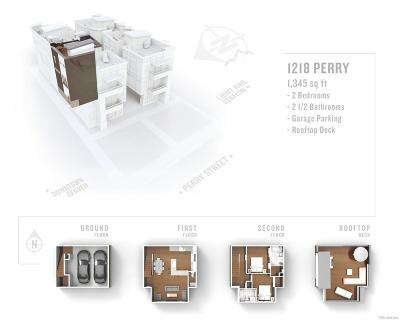 Denver Condo/Townhouse Under Contract: 1218 North Perry Street
