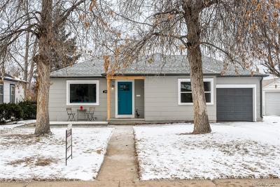 Denver Single Family Home Active: 1965 Rosemary Street