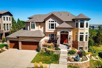 Castle Pines Single Family Home Active: 1167 Buffalo Ridge Road