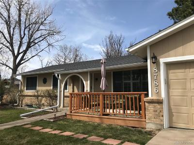 Arvada Single Family Home Under Contract: 8786 Kendall Court