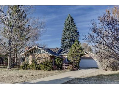 Denver Single Family Home Active: 2655 South Garfield Circle