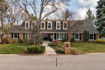 Greenwood Village Single Family Home Under Contract: 5434 South Emporia Court
