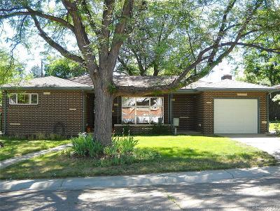 Broomfield Single Family Home Under Contract: 260 Iris Street