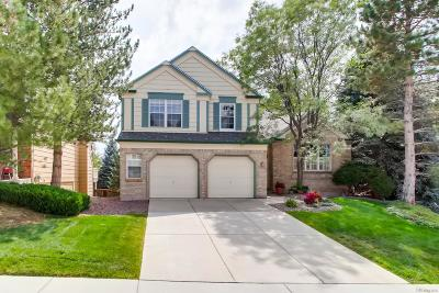 Littleton Single Family Home Under Contract: 10768 West Peakview Drive