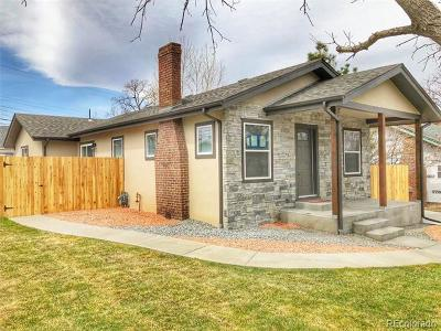 Denver Single Family Home Active: 5075 Meade Street