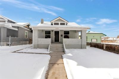 Denver Single Family Home Under Contract: 3353 North Josephine Street