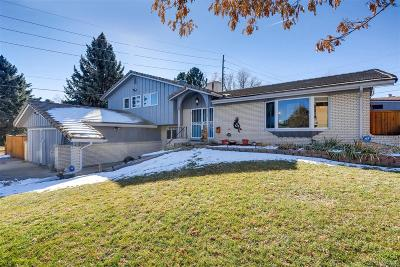 Denver Single Family Home Active: 9380 East Eastman Avenue