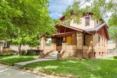 Denver Single Family Home Active: 4260 Knox Court