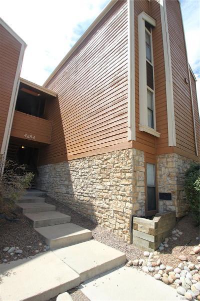 Aurora Condo/Townhouse Under Contract: 4284 South Salida Way #6