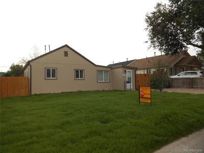 Denver Single Family Home Active: 610 South Stuart Street