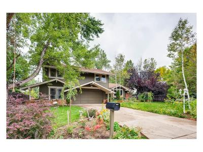 Boulder Single Family Home Under Contract: 7298 Petursdale Court