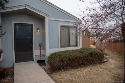 Arvada Condo/Townhouse Under Contract: 7933 Chase Circle #181