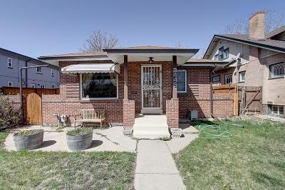 Denver Single Family Home Active: 3445 Zuni Street