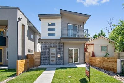Denver Single Family Home Under Contract: 1818 West 46th Avenue