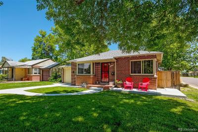 Denver Single Family Home Under Contract: 2200 Olive Street