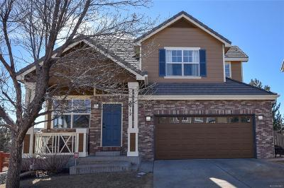 Castle Rock Single Family Home Under Contract: 3912 Miners Candle Place