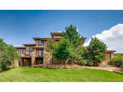 Castle Pines CO Single Family Home Active: $1,700,000