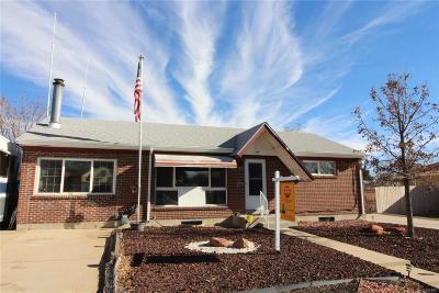 Northglenn Single Family Home Under Contract: 1445 Regina Lane