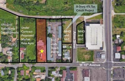 Lakewood Residential Lots & Land Active: 5401 West 10th Avenue