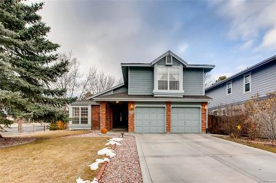 Littleton Single Family Home Under Contract: 7657 Snowmass Mountain