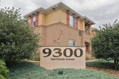Denver Condo/Townhouse Under Contract: 9300 East Florida Avenue #1505