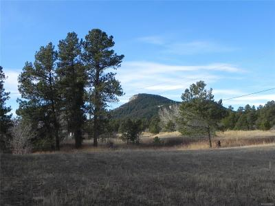 Larkspur CO Residential Lots & Land Under Contract: $699,000