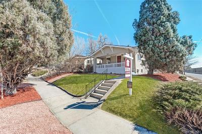 Denver Single Family Home Under Contract: 4804 Raleigh Street