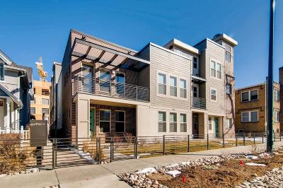 Denver Condo/Townhouse Under Contract: 1818 Clarkson Street #103