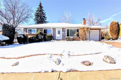Denver Single Family Home Active: 2761 South Utica Street