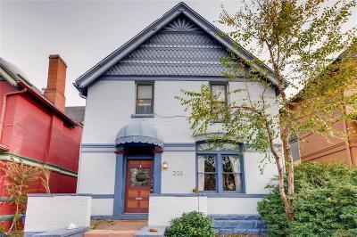 Denver Single Family Home Under Contract: 306 Bannock Street