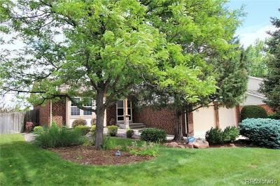 Littleton Single Family Home Active: 7816 South Pierce Way
